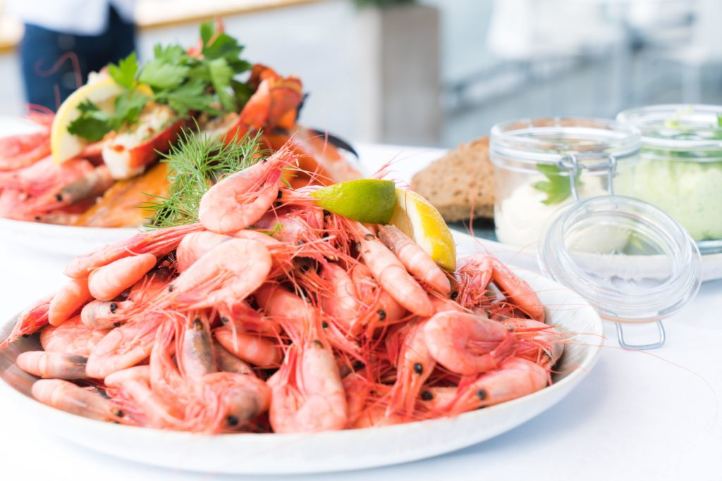 shrimp as High Protein Food For Weight Loss