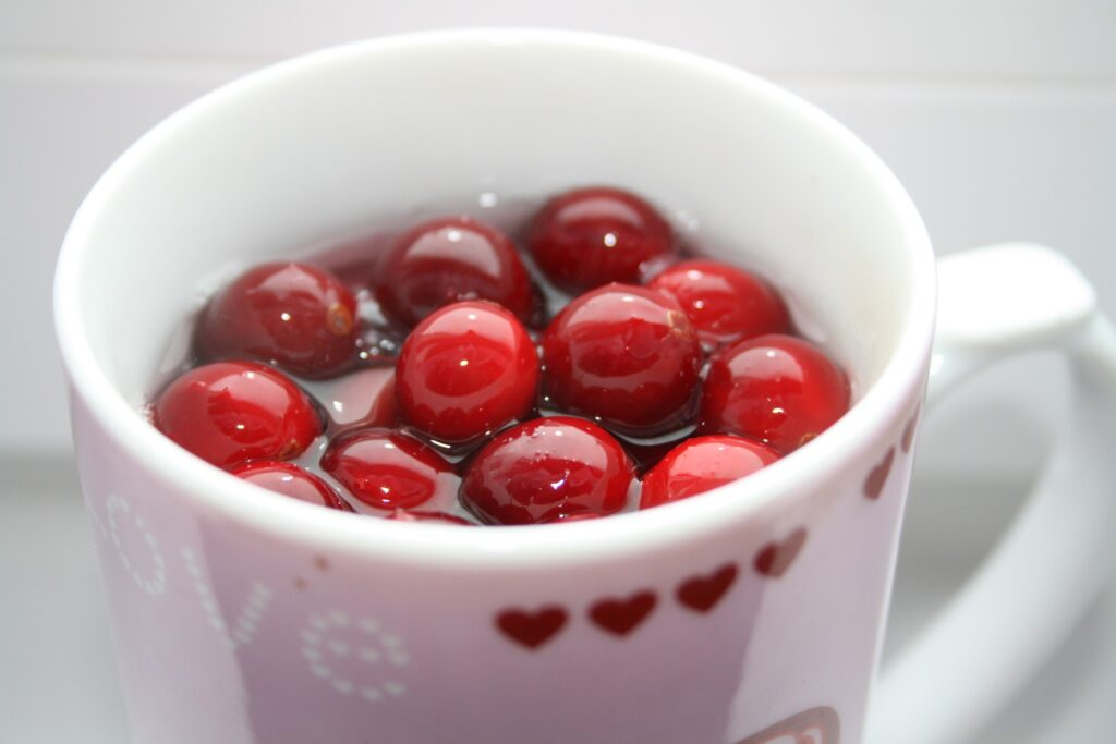 Micronutrients in cranberry juice