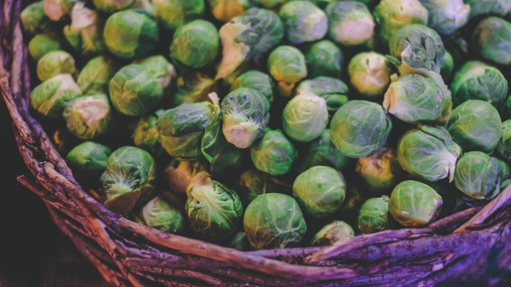 Brussels sprouts as low calorie vegetables good for weight loss