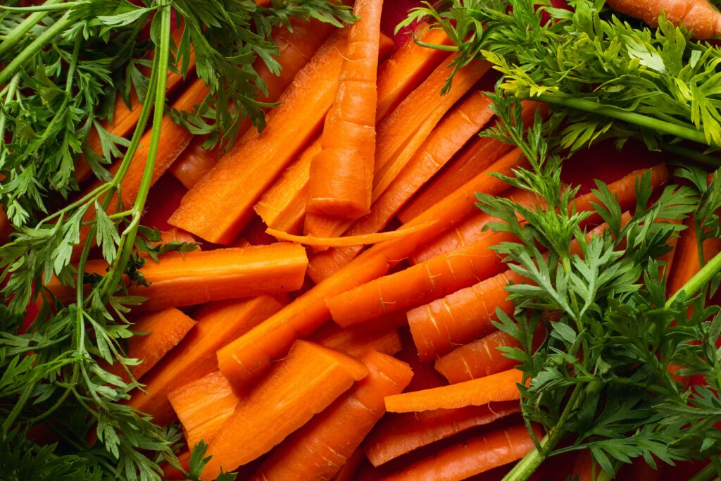 sliced carrots for weight loss