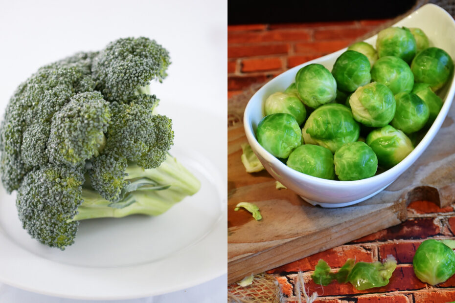 Broccoli Vs Brussels Sprouts Health, Weight Loss,...