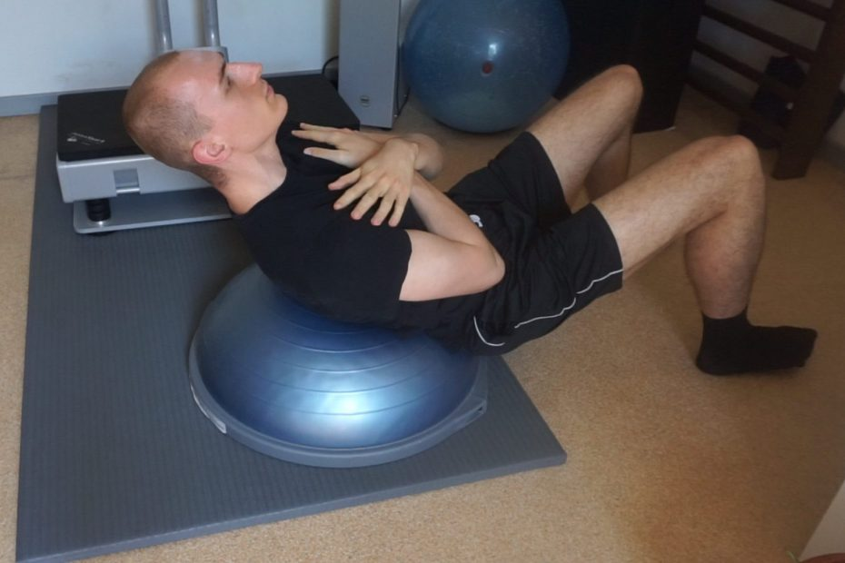 10 Of The Top Bosu Ball Ab And Core Exercises