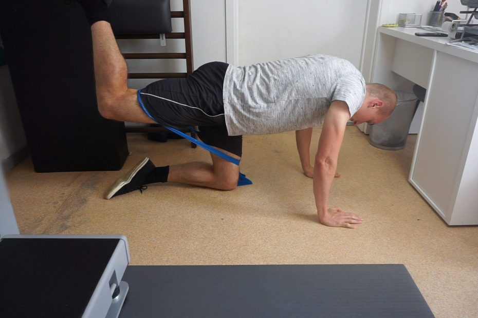 Resistance Band Donkey Kicks How To, Variations,...